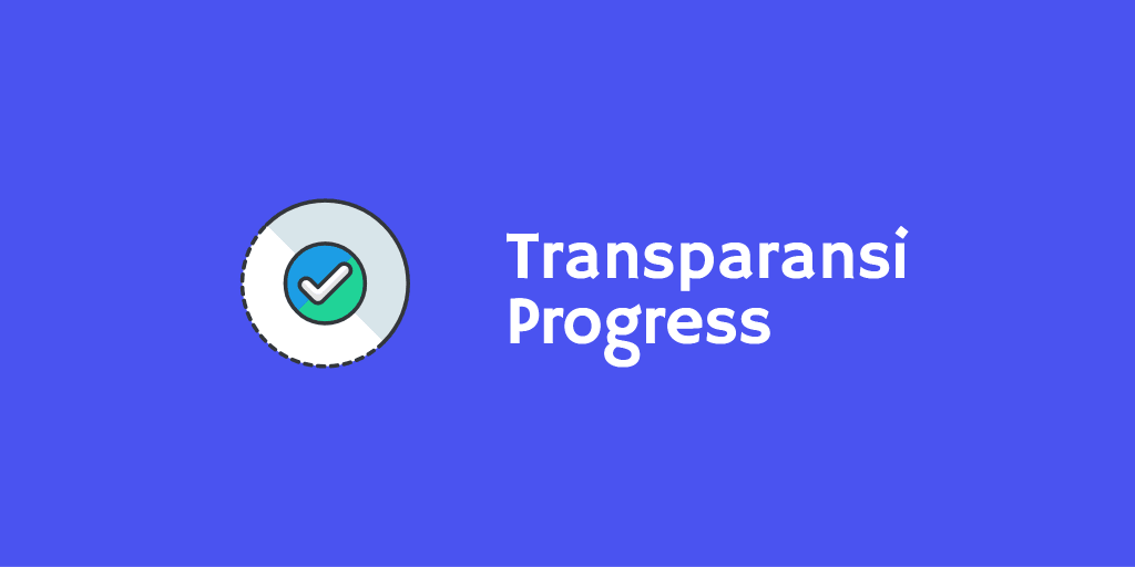 Transparansi Progress